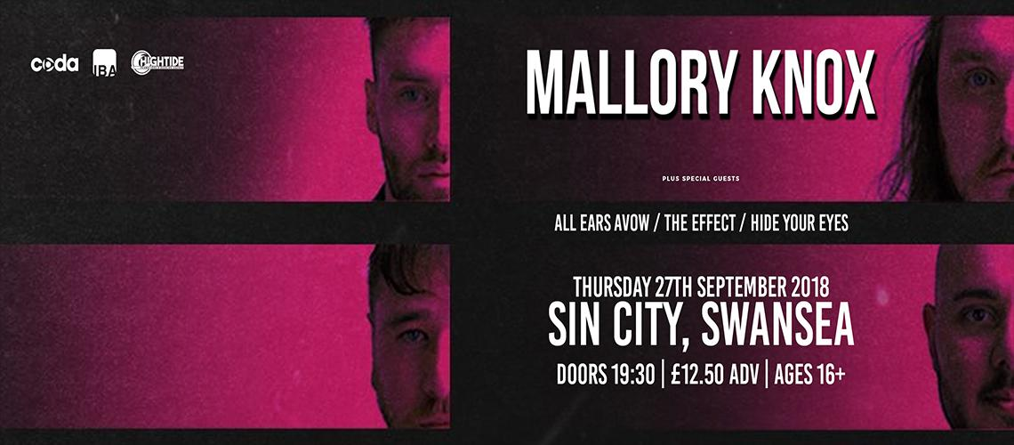 TicketEase - Sell Tickets Online - MALLORY KNOX - Plus Special Guests