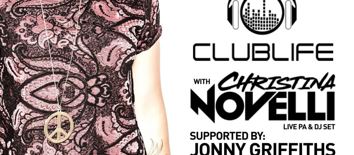 TicketEase - Sell Tickets Online - Clublife presents christina novelli