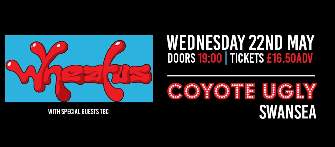 TicketEase - Sell Tickets Online - Wheatus Live | Coyote Ugly