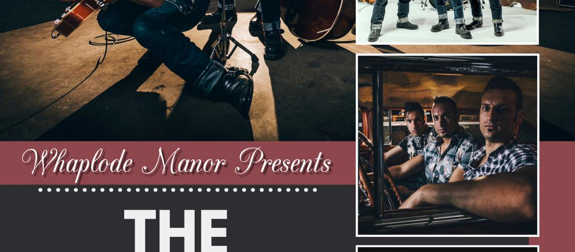 TicketEase - Sell Tickets Online - The Houndogs Live @ Whaplode Manor