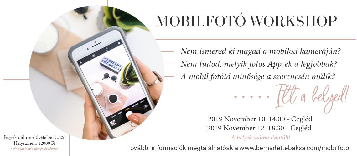 TicketEase - Sell Tickets Online - Mobilfoto Workshop - Hungary