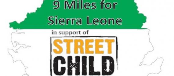 TicketEase - Sell Tickets Online - 9 Miles for Street Child, Sierra Leone