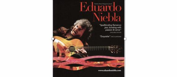 TicketEase - Sell Tickets Online - Eduardo Niebla - Spanish Guitarist